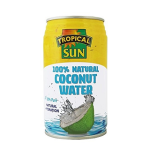 Tropical Sun 100% Natural Coconut Pure Water 330 ml (Pack of 12)